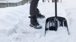 SHOVELING and Lower Back Pain